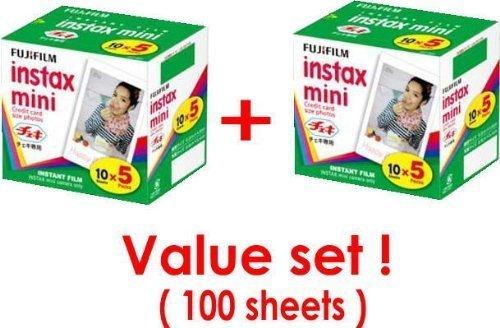 Fujifilm Instax Mini Instant Film, 10 Sheets of