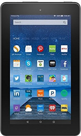 "Fire, 7"" Display, Wi-Fi, 16 GB - Includes"