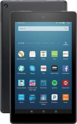 "All-New Fire HD 8 Tablet, 8"" HD Display,"