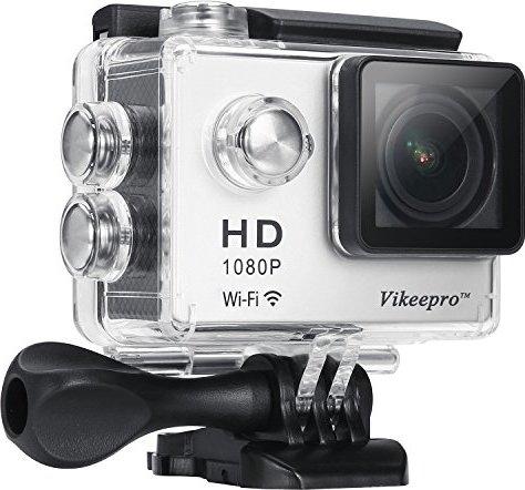 Waterproof WiFi Action Camera, Vikeepro 2.0 Inch Full
