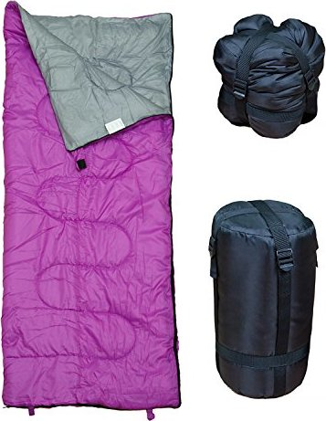 Lightweight Sleeping Bag by RevalCamp. Indoor & Outdoor